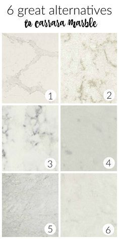 6 Great Alternatives to Carrara Marble Countertops In Your Farmhouse Kitchen
