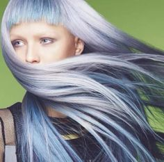 Got the blues hair color Hair Color Blue, Blue Hair, Hair Tools, Colorful Fashion, Blues, Hair Styles, Inspiration, Biblical Inspiration, Hair Looks