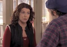 Every Awkward Outfit From Season 4 Of Gilmore Girls, From Paisley To Jean Skirts