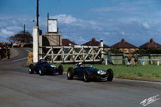 Stacey Lotus 16 - Bonnier BRM P25 - 1959 British Grand Prix, Aintree, Liverpool, England