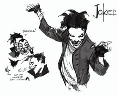 Joker Comic, Comic Art, Joker Art, Dc Comics Characters, Dc Comics Art, Fictional Characters, Batman Concept Art, 3 Jokers, The Last Laugh