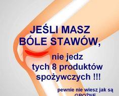 zdrowie.hotto.pl-bole-stawow-nie-jedz-tych-produktow-spozywczych-szkodza Health Diet, Health Fitness, Home Remedies, Helpful Hints, Personal Care, Good Things, Tips, Blog, Beauty