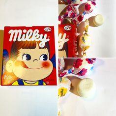 #PekochanMilky  Un suave caramelo de leche hecho a partir de leche condensada de Hokkaido;  http://ift.tt/1VPNF0E  A soft milk candy that uses condensed milk from Hokkaido.  #boxfromjapan #BFJcajamarzo #BFJmarchbox #golosinasjapon #pekochan