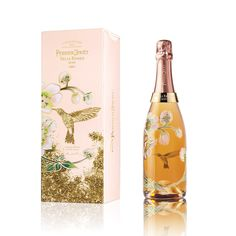 The charm and extravagance of the Belle Epoque Rosé 2005 precisely mirror Vik Muniz's design adorning the bottle. #perrierjouet #VikMuniz #belleepoque #limitededition #champagne - Please Drink Responsibly