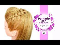 Peinados con Coletas - Semirecogidos con Trenzas Faciles y Bonitas para Fiestas - YouTube