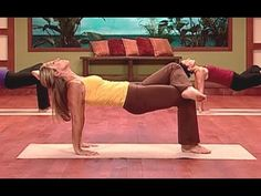Denise Austin: Yoga Legs Workout - YouTube