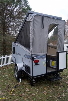 Small Trailer Snapshot: The Coachmen Clipper/Viking Express Small Camper Trailers, Off Road Camper Trailer, Small Trailer, Small Campers, Trailer Build, Camping Trailers, Travel Trailers, Hiker Trailer, Micro Campers