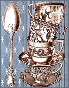 cups and spoon Jill Meyer