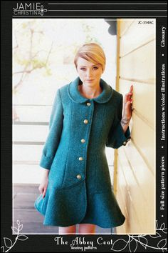I would love a coat like this: The Abbey Coat Pattern