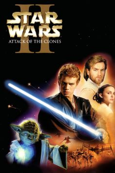 Star Wars: Episode II: Attack of the Clones (2002). Hayden Christensen (Anakin Skywalker) , Natalie Portman (Padmé), Ewan McGregor (Obi-Wan Kenobi), Christopher Lee (Count Dooku/Darth Tyranus), Ian McDiarmid (Supreme Chancellor Palpatine). Space Opera | Sci-fi | Action | Adventure.