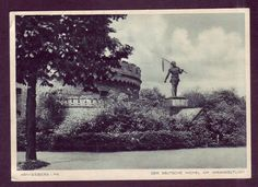 KÖNIGSBERG i.PR.DER DEUTSCHE MICHEL 1937 gelaufen GROßFORMAT  / V+Rs.große Scans