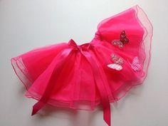 Saia Tutu Borboleta - Pink