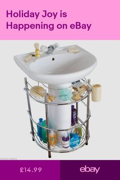 Under Sink Shelf Bathroom - The bathroom sink is an essential aspect of the property. Toilet sinks are utilized often, in man Small Shower Remodel, Small Bathroom With Shower, Small Space Bathroom, Master Shower, Small Bathrooms, Master Bath, Bathroom Ideas, Small Spaces, Under Bathroom Sink Storage