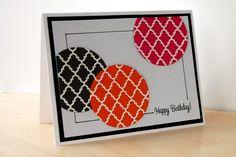 Simple but striking card!