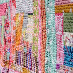 Pink Quilt by Leislmade