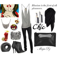 Gallery Opening, created by maja-dj on Polyvore