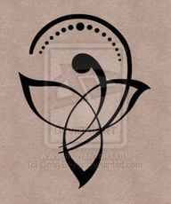 Celtic mother/child symbol