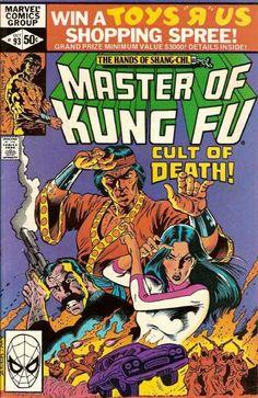 THE HANDS OF SHANG-CHI MASTER OF KUNG FU 93 MARVEL COMICS