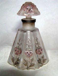 """Gaby"" Avenel Perfume Bottle Julien Viard Circa 1913'S 3 3 4"" Tall | eBay"