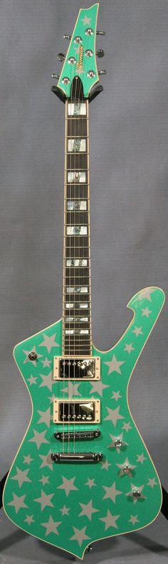 Ed roman green zombie guitar