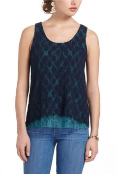 anthropologie: Lace View Tank  found pic@Lyst
