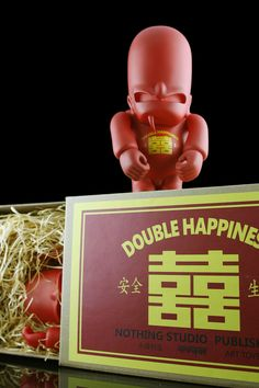 Double happiness Toy--Nothing studtio from Beijing