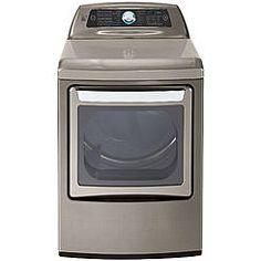 Kenmore Elite 61553 7.3 cu. ft. Electric Dryer w/ Dual-Opening Door - Metallic Silver