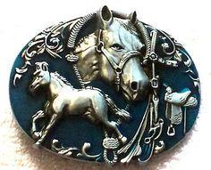 Horse & Tack Belt Buckle
