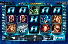 The Avengers on toivottavasti hyvää ja valtva kolikkopeli netissä! Kasino pelissa on erilaiset bonukset kaikkille, hyvää grafiikka, 5 rullat ja 20 voittolinjat! Kokeille juuri nyt ja näet kuinka helppo pelata ja voitta rahaa netissä!