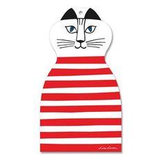 Det charmerende Trull-skærebræt fra Opto design er formet som katten fra Lisa Larsons serie Tripp, trapp, trull. Lisa Larson er kendt over hele verden for sine humoristiske figurer, og kattene er lidt hendes kendetegn. Trull-skærebrættet er en munter detalje til køkkenet og gør køkkenarbejdet sjovere. Vælg mellem forskellige varianter!