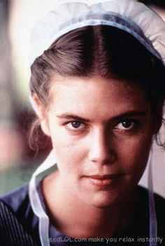 amish girl from movie The Witness  staring Harrison Ford
