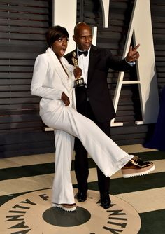 Viola Davis Celebrated Her Oscars Win In Sneakers Like A Boss | The Huffington Post