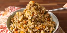 Cauliflower takes the place of bread in the low-carb stuffing of your dreams.