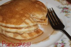 Tormented Kitchen: Justin's Homemade Pancakes, fluffy and delicious Homemade Pancakes, Very Hungry, What To Cook, Recipe Of The Day, Taste Buds, Breakfast Recipes, Brunch, Easy Meals, What's Cooking
