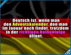 Ordnung muss sein! :P  Lustige Sprüche  #Humor #1jux #Sprüche #Jodel #lustigeSprüche #deutsch #Deutschland #Advendskalender