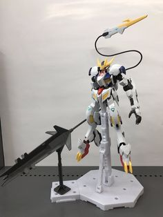 GUNDAM GUY: 1/100 Full Mechanic Gundam Barbatos Lupus Rex - Review Images via YS_HOTEN