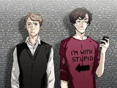 Image result for anime sherlock