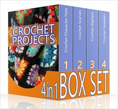 Crochet Projects BOX SET 4 IN 1: 50 Crochet Character Hats + 30 Crochet Scarves + 27 Crochet Afghans + 26 Crochet Sweaters: (Crochet patterns, Crochet ... beginner's guide, step-by-step projects) - Kindle edition by Adrienne Long. Crafts, Hobbies & Home Kindle eBooks @ Amazon.com.