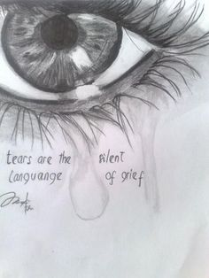 ❤️❤️❤️ Tears are the silent language of grief. Natalie my sweet ang . - ❤️❤️❤️ Tears are the silent language of grief. Natalie my sweet Angel in heaven, I love - Crying Girl Drawing, Cry Drawing, Drawing Sketches, Painting & Drawing, Drawing Tears, Sketching, Sad Drawings, Pencil Drawings, People Drawings