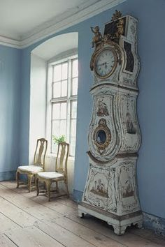 """Tweedland"" The Gentlemen's club: Lars Sjoberg, hero of Swedish Heritage Conservation ... Restorer of the Gustavian Style."