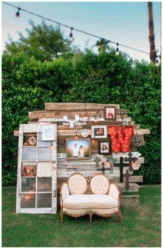 Ideas de Photocall para Boda: un espacio para fotos divertidas | El Blog de una Novia | #boda #fiesta #invitados