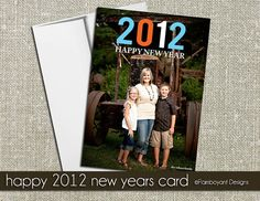 Cute New Year card