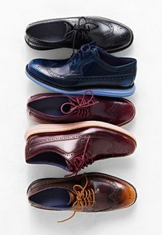 Cole Haan you've done it! style with the comfort of sneakers. yes please. now I need a cheaper version...Lunar Grand Long Wingtip