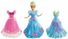 Disney Favorite Moments Forever Fairytale Fashion Pack by Mattel. $43.99. Includes 4 dolls, 12 MagiClip fashions, and tons of accessories. Comes with dresses and accessories that are iconic to their stories. A great gift that any girl will love. The ultimate in royal fashion play. Features Ariel, Bell, Sleeping Beauty and Snow White. From the Manufacturer                Disney Princess Forever Fairytale Fashion Pack: Fashion play gets the ultimate royal treatment ...