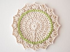 What You'll Be CreatingIn this tutorial we'll be making a cute set of crochet coasters. The pattern uses US terms and stitches include slip stitch (sl st); double cr