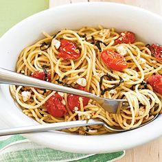 Tomato-Ricotta Spaghetti | MyRecipes.com