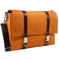 Fab.com | Camera Messenger Large Orange