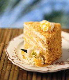 Tommy Bahama Pina Colada Cake from Tommy Bahama Restaurant