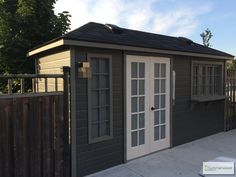 This customized Sonoma shed will fit any corner in your backyard!