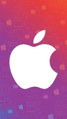 IPhone X 4k Wallpaper Apple Logo Pink HD